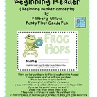 Frog Hops Beginning Reader