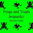 Frog Jeopardy Game