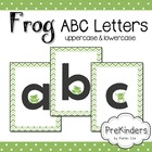 Frog Letters for Posters & Displays