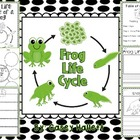 Frog Life Cycle {Informational Writing Packet}