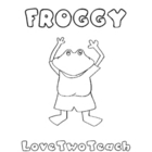 Frog Literacy and Math Center Activities