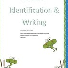 Frog Number Identification and Writing Activity