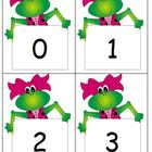 Frog Number Line/Flash Cards 0 - 180