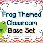 Frog Theme Classroom: Base Set