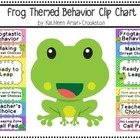 Frog Themed Behavior Clip Chart