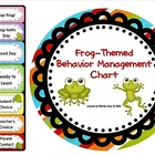 Frog-Themed Behavior Clip Chart