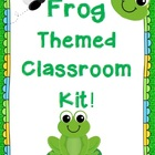Frog Themed Class Pack