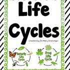 Frog and Butterfly Life Cycles- Compare &amp; Contrast, Text E