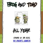 Frog and Toad Activities: Frog and Toad All Year