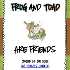 Frog and Toad Activities: Frog and Toad Are Friends