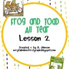 Frog and Toad All Year Supplementals for Storytown 2nd Gra