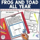 Frog and Toad All Year by Arnold Lobel Guided Reading Unit