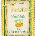 Frog and Toad Amphibians Word Work