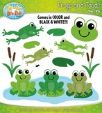 Frog and Toad Clipart Set — Includes 30 Graphics!