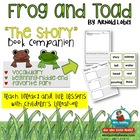 Frog and Toad &quot;The Story&quot; Literature Response