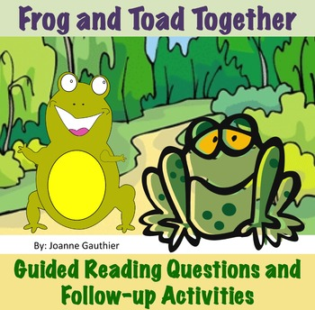 Frog and Toad Together - Guided Reading Unit