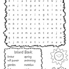 Frog and Toad Word Search