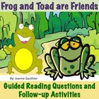 Frog and Toad are Friends - Guided Reading Unit