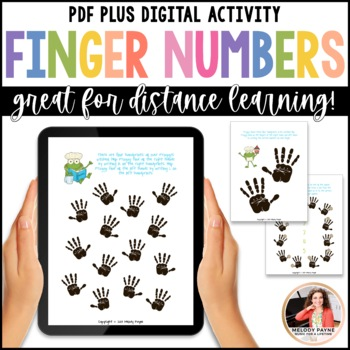 Froggy Fingers: Finger Numbers & Hands Worksheets for Elem