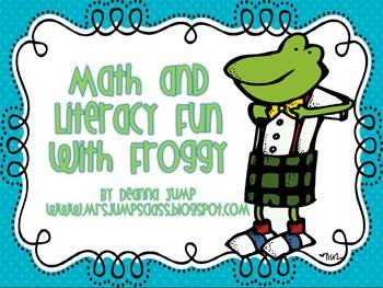 Math and Literacy Fun with Froggy by Deanna Jump
