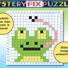 Froggy: Mystery Pix Puzzle {Powerpoint}