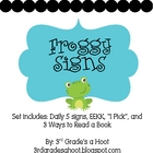 Froggy Signs