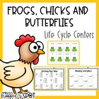 Frogs Chicks and Butterflies {Life Cycle Themed Centers}