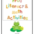 Frogs Literacy and Math