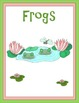 Frogs Thematic Unit