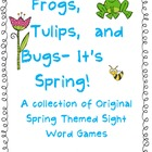 Frogs, Tulips, and Bugs- It&#039;s Spring