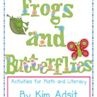 Frogs and Butterflies - Activities for Math and Literacy