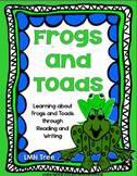 Frogs and Toads ELA Thematic Unit Grades 2-3