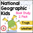 Frogs and Weather Informational Book Club Packets