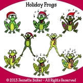 Frogs Clip Art by Jeanette Baker