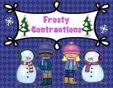 Frosty Contractions Literacy Center for winter