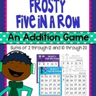 Frosty Five in a Row {FREEBIE}
