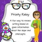 Frosty Relay: A fun way to review writing the equation of a line.