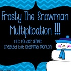 Frosty The Snowman 2-Digit Multiplication