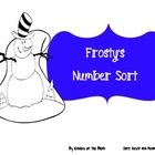 Frosty&#039;s Number Sorts