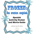 Frozen Activity Packet and Movie Guide in Spanish/ Una ave