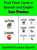 Fruit (Las frutas) Flash Cards (24) in Spanish and English!