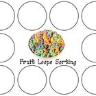 Fruit Loop Necklaces Lesson & Sorting Mat