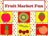 Fruit Market Activities, Centers, Store, Label, Money Prac