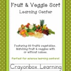 Fruit and Vegetable Match Learning Center