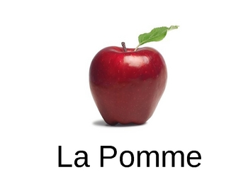 Fruit in French, Vocabulary, Pictures, and Games