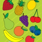 Fruits Clip Art Collection - Personal and Commercial Use