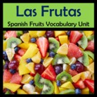 Fruits Vocabulary Lists, Activities, Crossword, Games, and