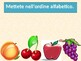 Frutta e Verdura (Fruits and vegetables in Italian) power point