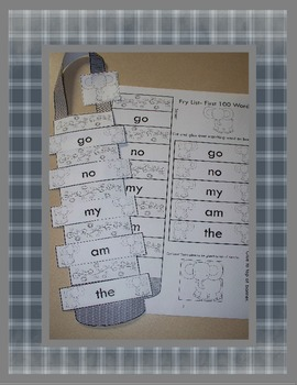 Fry List Sight Word Banners