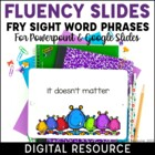 Fry Phrase Powerpoints